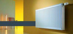 Стальной радиатор в системе отопления