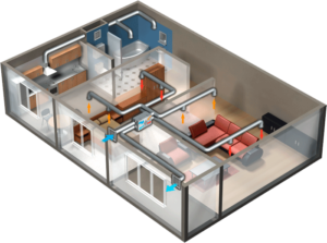 Вентиляция и очистка воздуха в квартире