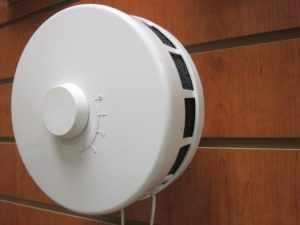 клапан приточно-вытяжной вентиляции: вид изнутри