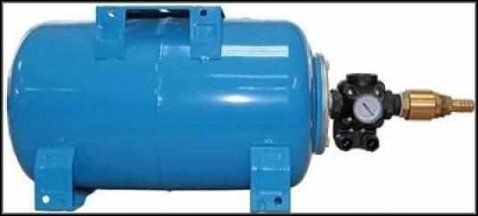 Гидроаккумулятор с установленным реле отключения
