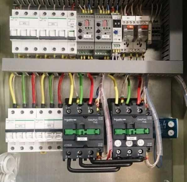 Модульный контактор 8