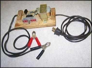 диодный мостик с выводами к клеммам