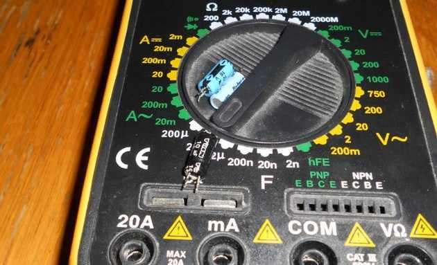 Твердотельный конденсатор 8