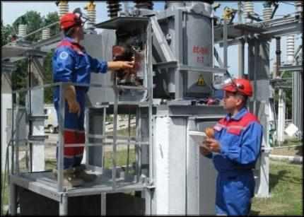 Обслуживание элегазовых выключателей