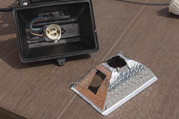 Изготовление корпуса для светодиодного прожектора