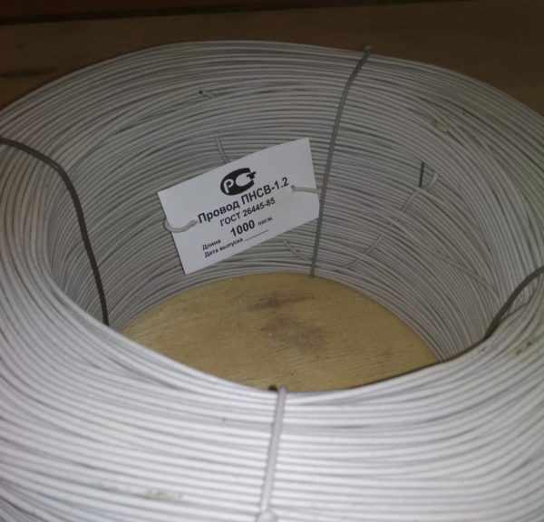 Одножильный прогревочный кабель