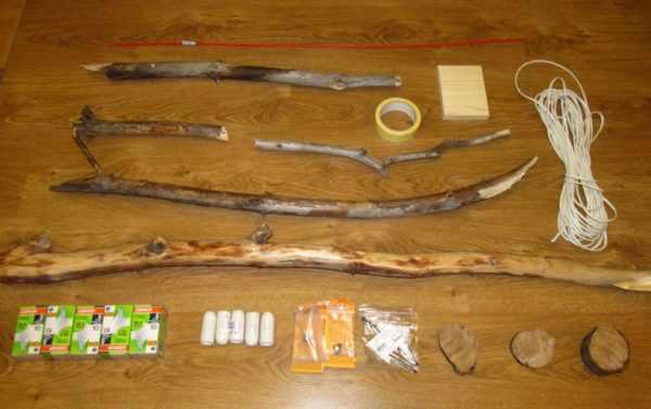 Материалы для изготовления деревянного светильника
