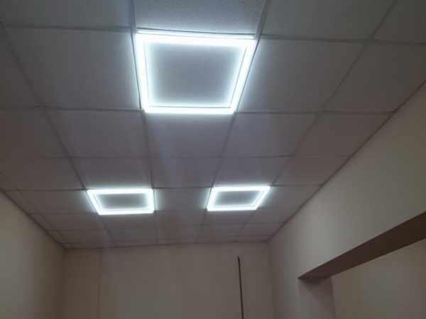 Светильник с LED-лентами