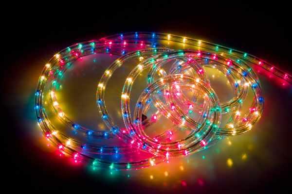 Гибкий световой шнур из ПВХ