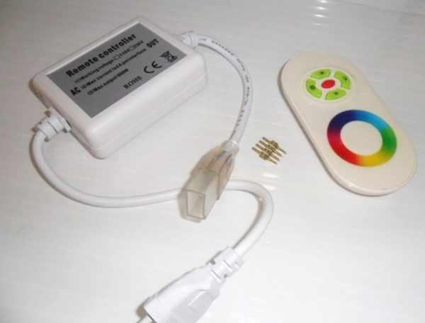 Блок управления RGB-лентой с пультом ДУ