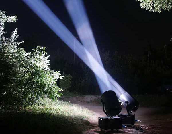 Светодиодный прожектор дальнего действия