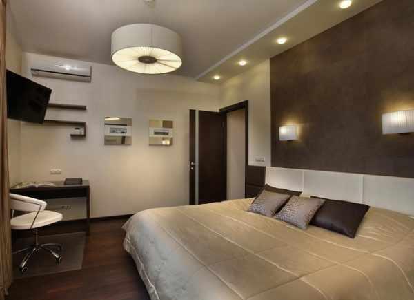 Равномерное освещение помещения достигается за счет использования разных видов осветительных приборов