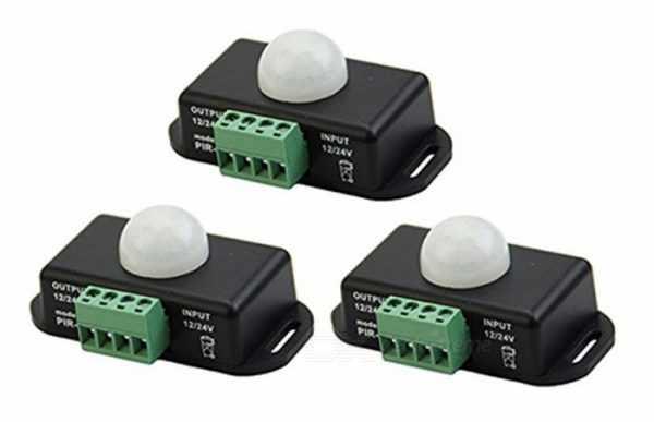 Инфракрасный датчик движения для светодиодной ленты