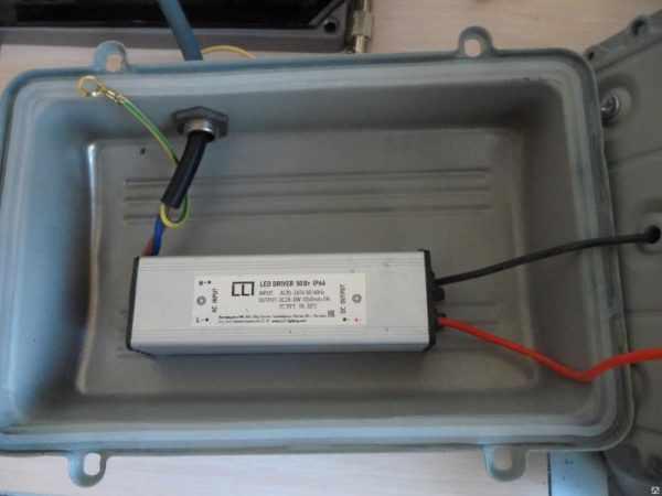 Драйвер для матричного прожектора