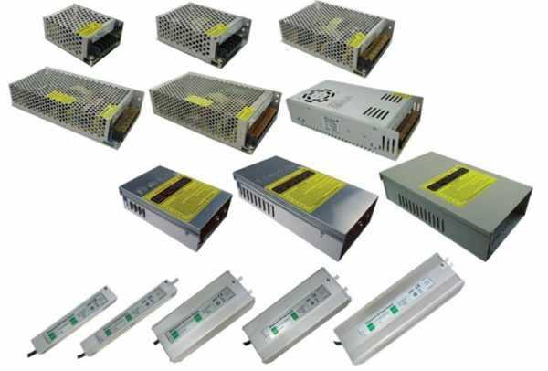 Разновидности блоков питания для светодиодных лент