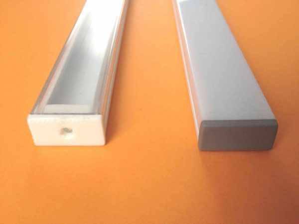 Профиль для LED-ленты из пластика