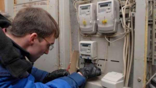 Процедура установки электросчетчиков